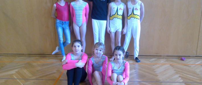Izredno uspešni nastopi gimnastičarjev